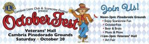 OctoberFest - Cambria @ Cambria Veterans Hall | Cambria | California | United States