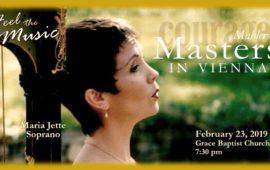 Santa Maria Philharmonic: Mahler MASTERS in Vienna @ Grace Baptist Church