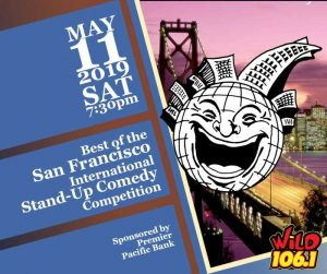 Best of San Francisco Stand Up Comedy Competition @ Clark Center