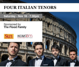 Four Italian Tenors @ Clark Center
